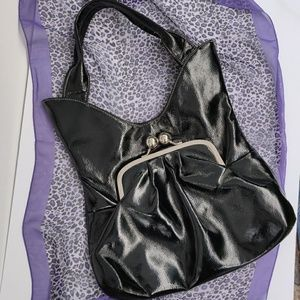 Vintage Patent Leather Handbag